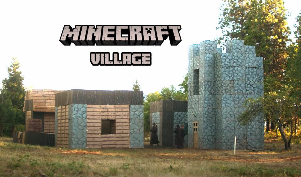 Village-Minecraft-IRL-clicks-and-games