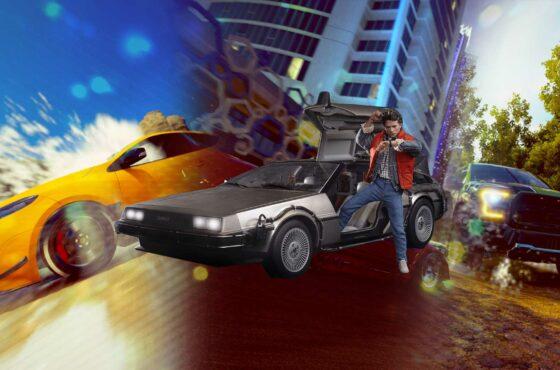 Retour vers le Futur dans Forza Horizon 5 avec la DeLorean