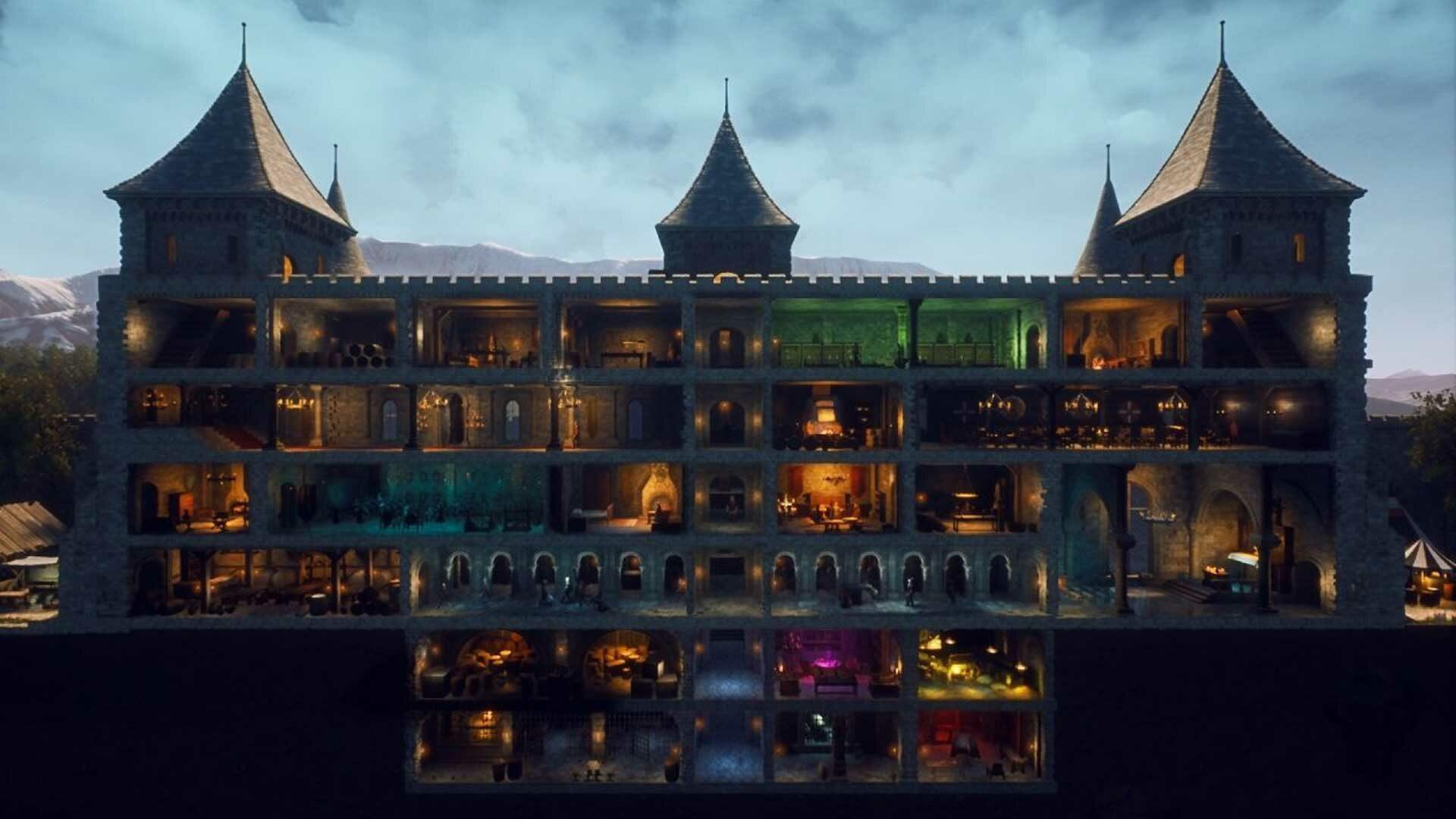 Castle Manager, le simulateur de chateau fort médiéval annoncé