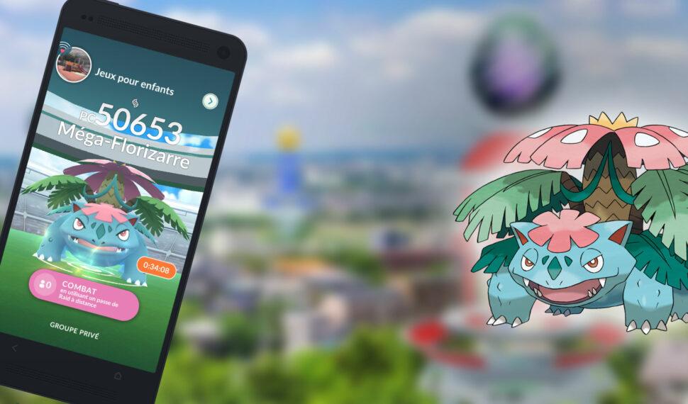 Raids - Battre Méga-Florizarre, les meilleurs Pokémon pour le vaincre