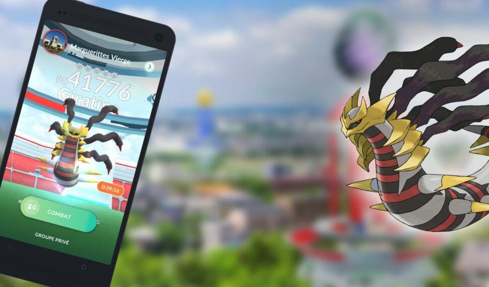 Raids – Battre Giratina forme Originelle, les meilleurs Pokémon pour le vaincre