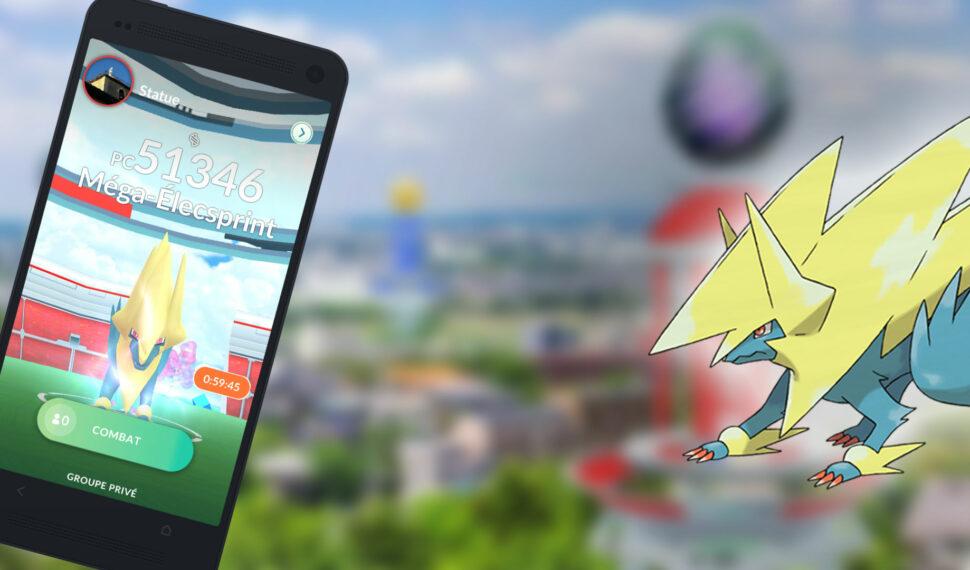 Raids - Battre Méga-Élecsprint, les meilleurs Pokémon pour le vaincre