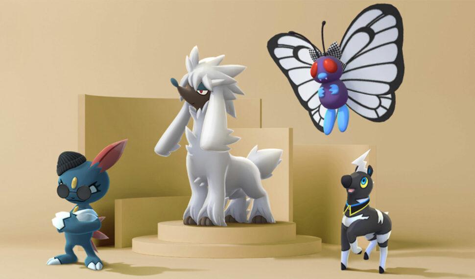 Fashion Week - Couafarel et des Pokémon costumés arrivent dans Pokémon GO
