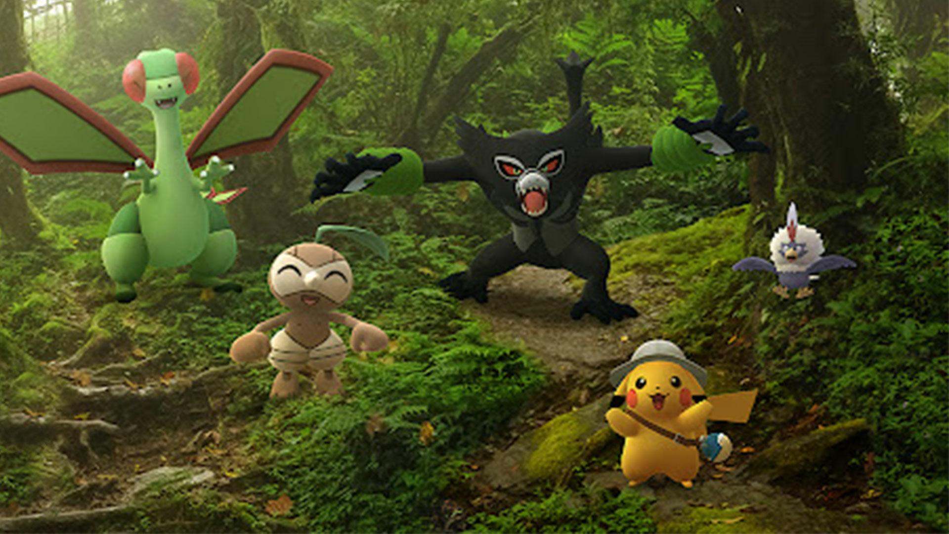 Les secrets de la jungle – Zarude fait son entrée sur Pokémon GO