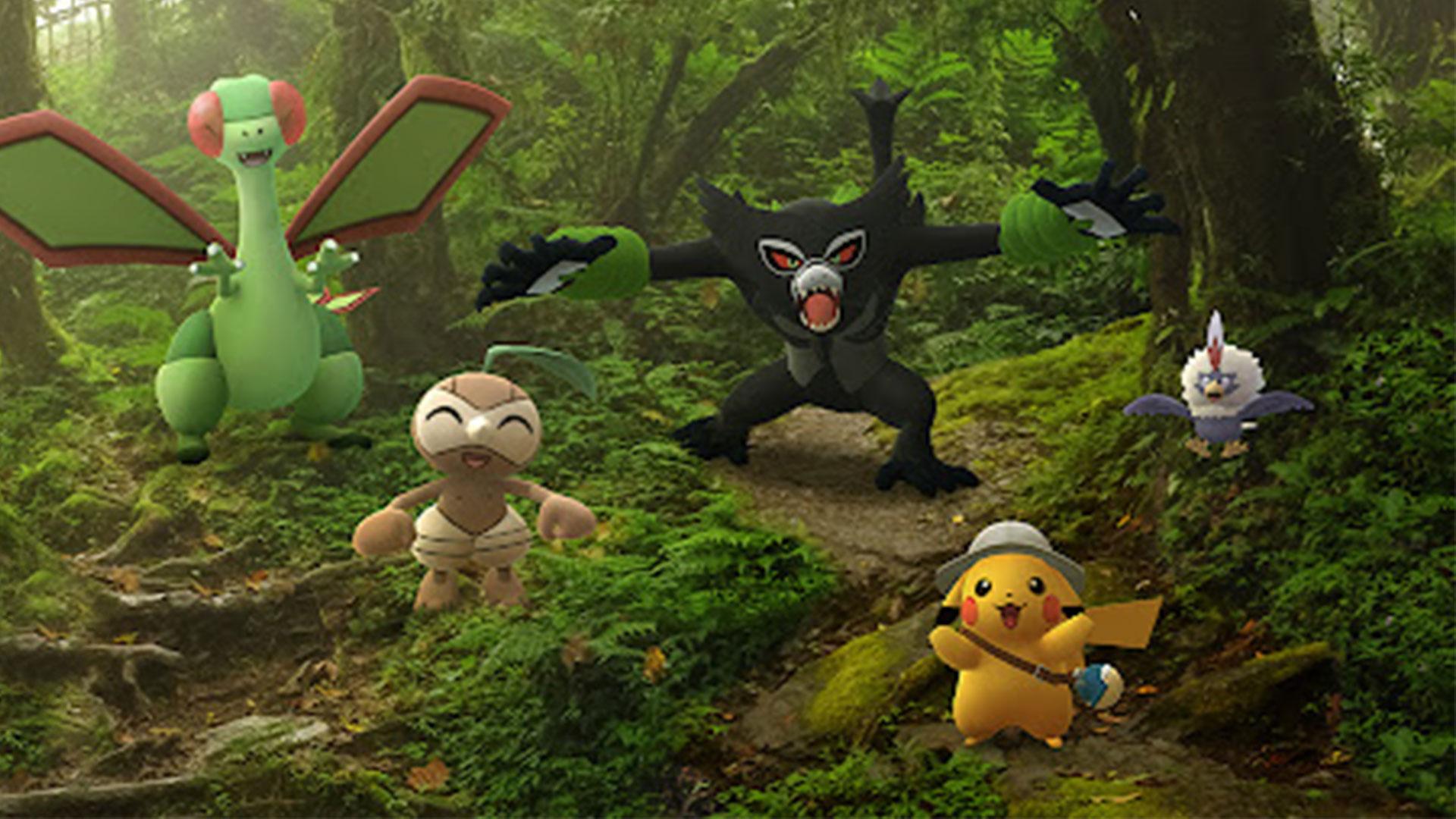 Les secrets de la jungle - Zarude fait son entrée sur Pokémon GO