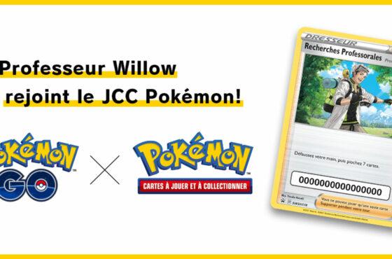 Recherches Professorales – Guide de l'Étude Spéciale – Professeur Willow du JCC Pokémon