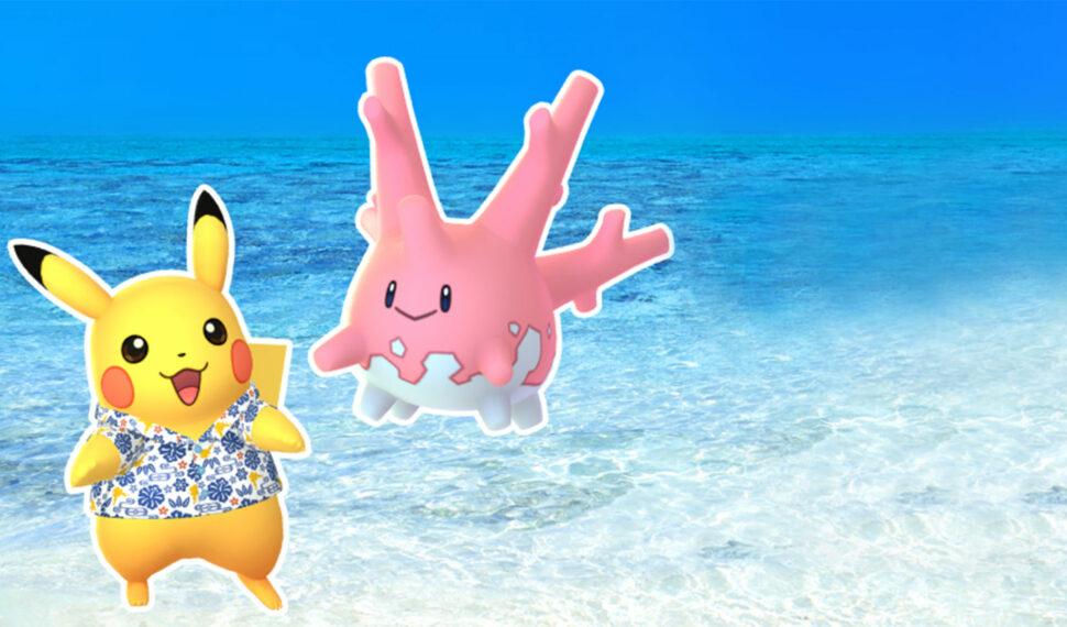 Corayon chromatique fait ses premiers pas sur Pokémon GO