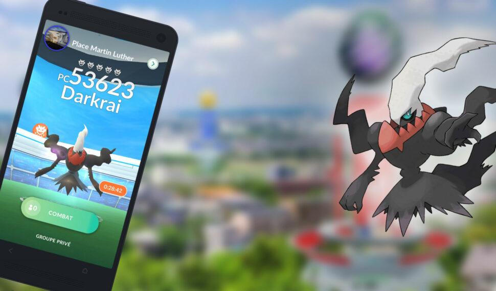 Raids – Battre Darkrai, les meilleurs Pokémon pour le vaincre