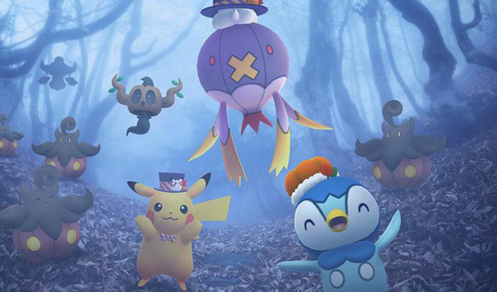 Compagnons Cauchemar et Copains Effrayants pour ce Pokémon GO Halloween 2021